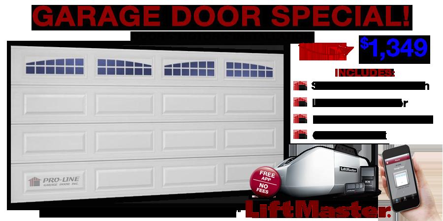 Pro Line Garage Door Services Los Angeles Orange County